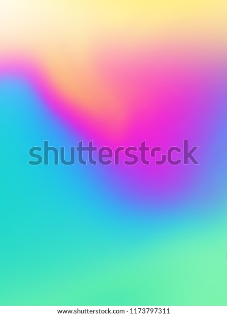 Colorful Smooth Gradient Color Background Wallpaper Stock