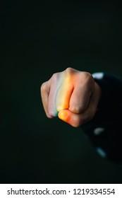 Colorful Spectrum Fist