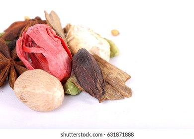 Colorful spices for garam masala indian,ingredients for garam masala , indian spices