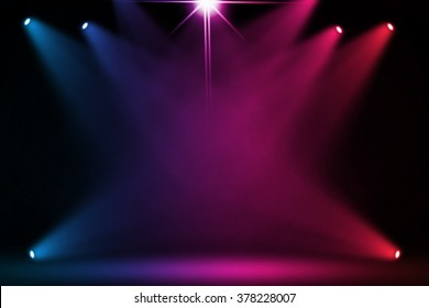 Colorful stage background