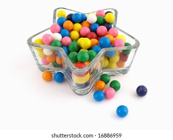 Colorful Star of Gumballs