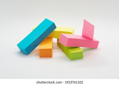 colorful sticky notes for home office