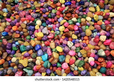 colorful stone background minerial sand