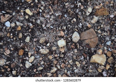 Colorful stone background Is a mountain rock that occurs naturally