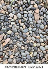 colorful stones by the pool