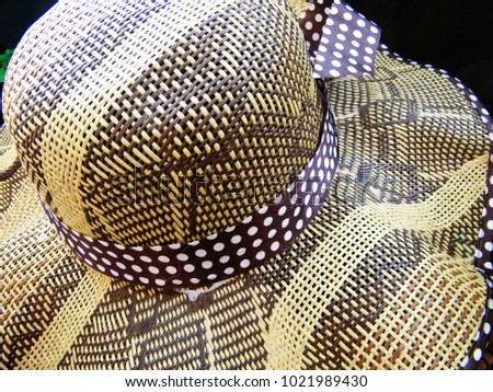 2356ead0c2e Colorful Straw Hats On Sale Tourist Stock Photo (Edit Now ...