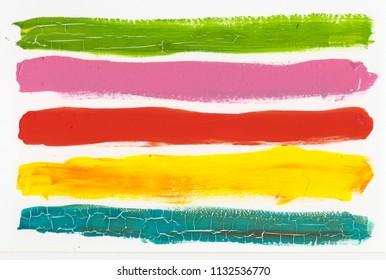colorful stripe acrylic background