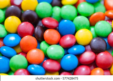 lot of colorful sweets.