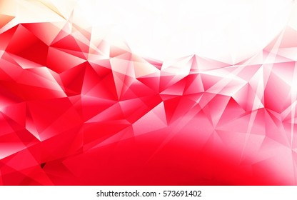 Colorful swirl polygon background. Colorful abstract vector. Abstract color Triangle Geometrical Background, Polygon swirl design.