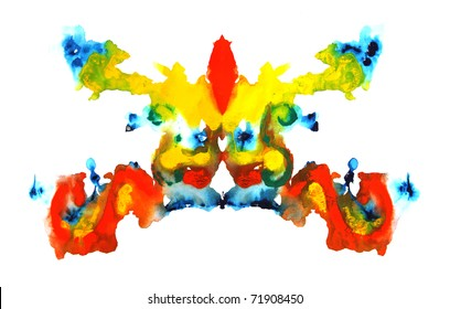 colorful symmetric painting
