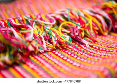 Colorful textil