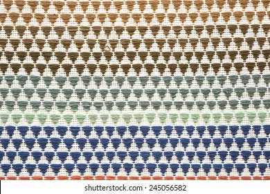 Colorful thai handcraft peruvian cutton style rug surface close up More of this motif & more textiles peruvian stripe beautiful background tapestry persian nomad detail pattern arabic fashionable.