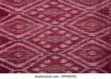Colorful thai silk handcraft organic using natural dyes close up More this motif & more textiles peruvian stripe beautiful background tapestry persian nomad detail pattern farabic fashionable textile.
