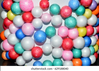 Thermocol Bubbles Craft Flower Images Stock Photos Vectors