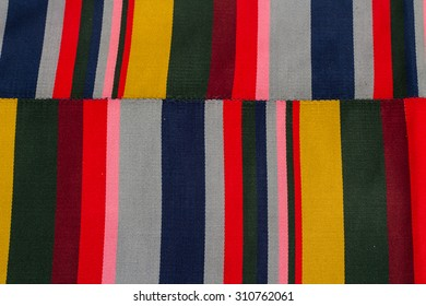 colorful Tibet fabrics background.