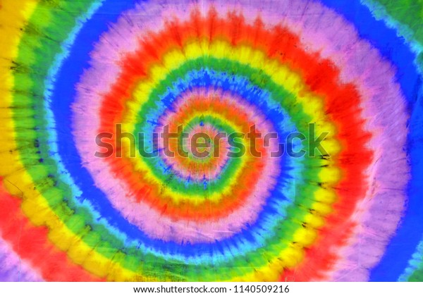 Colorful Tie Dye Abstract Pattern Swirl