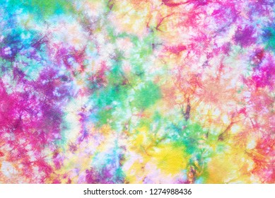 colorful tie dye pattern abstract background