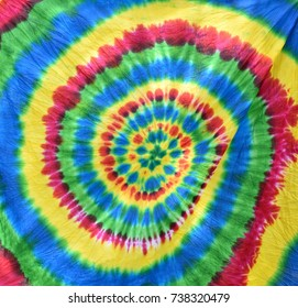 Colorful tie-dyeing background
