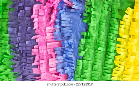 Colorful tissue paper as a background image