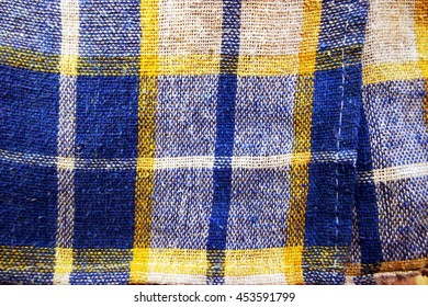 Colorful towel texture, abstract background