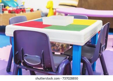 Colorful toy block puzzle set for children brain practice