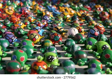 colorful toys from mexico