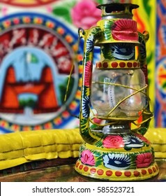 Colorful Truck Art Lamp