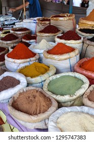 Colorful Turkish Herbs and Spices