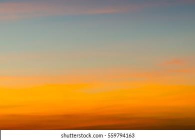 Colorful  Twilight Skyr Background