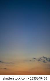 colorful twilight sunset sky