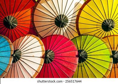 Colorful Umbrellas