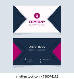 Colorful and Useful Business Card