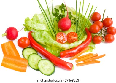 colorful useful  vegetables