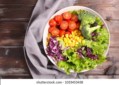 colorful vegetable salad