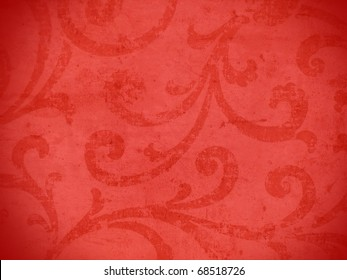Colorful vibrant arabesque style decorative background. More of this motif & more ornaments in my port.