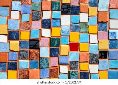 Πέντε φωτογραφίες σχετικές με υλικά ζωγραφικής Colorful-vintage-ceramic-tiles-wall-260nw-172502774
