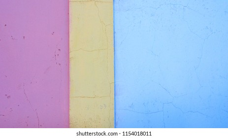 Colorful wall for backgrounds with copy space