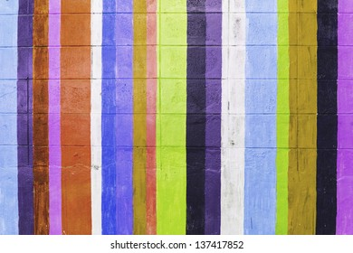 colorful wall concret background