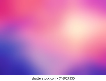 Colorful watercolor blurred texture. Empty colorful background. Yellow, pink, violet gradient texture. Background bright sky defocused.