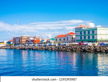 Colorful Waterfront on Dominica