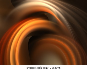 Colorful waves of arching ripple texture - fractal abstract background