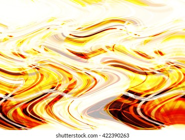 Colorful wavy background created with lines of different thicknesses. Illustration