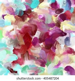 Colorful Wet Paint