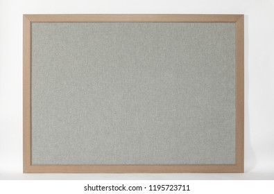 colorful white board with frame on a white background