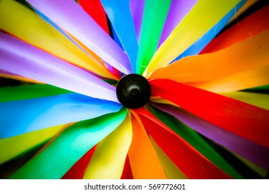 Colorful windmill