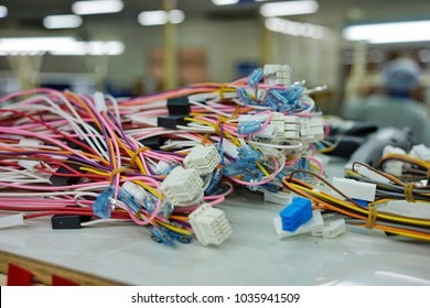 Colorful wire harness for connect electronic