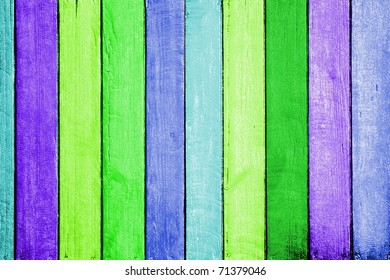 colorful wood