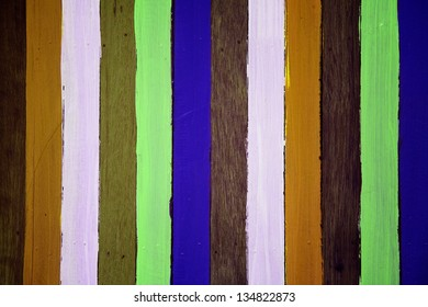 colorful wooden background.
