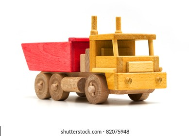 colorful wooden truck