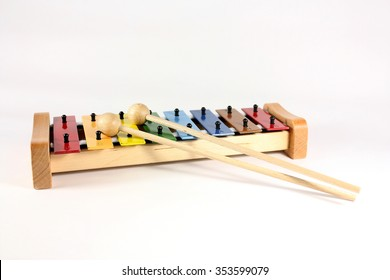 colorful xylophone  for children